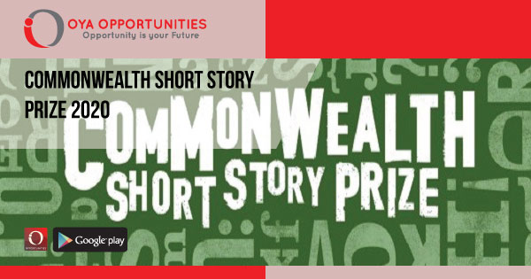 Commonwealth Short Story Prize 2020 (win up to £5,000)