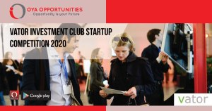 Vator Investment Club Startup Competition 2020
