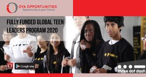Fully Funded Global Teen Leaders Program 2020