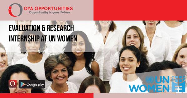 Evaluation & Research Internship at UN Women