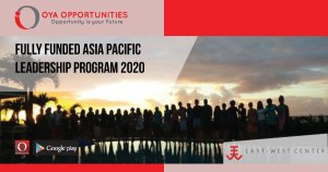 Fully Funded Asia Pacific Leadership Program 2020