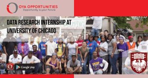 Data Research Internship at University of Chicago
