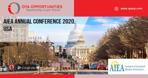 AIEA Annual Conference 2020, USA