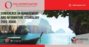 Academic Conference on Management and Information Technology 2020