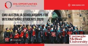 CMU Australia Scholarships for International Students 2020