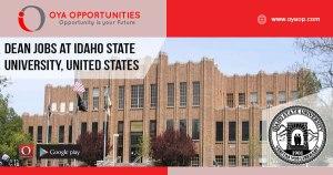Dean jobs at Idaho State University