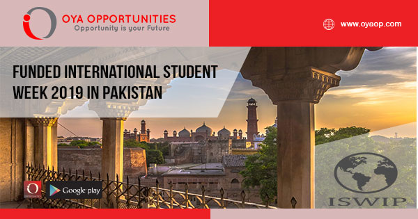 Funded International Student Week 2019 in Pakistan