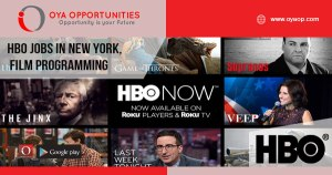 HBO Jobs in New York, Film Programming