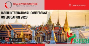 ICEDU International Conference on Education 2020