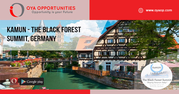 KaMUN - The Black Forest Summit, Germany