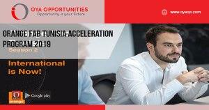 Orange Fab Tunisia Acceleration Program 2019