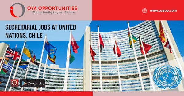Secretarial jobs at United Nations, Chile