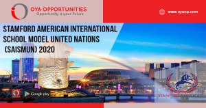 Stamford American International School Model United Nations (SAISMUN) 2020