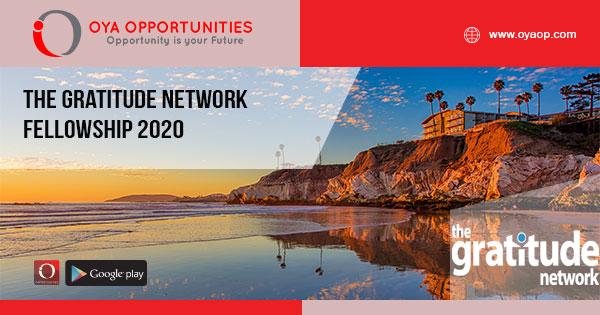 The Gratitude Network Fellowship 2020