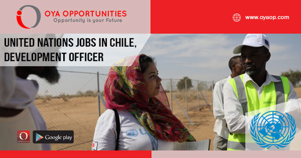 United Nations Jobs in Chile, Development Officer