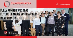 Fully Funded Westpac Future Leaders Scholarship in Australia