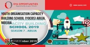 Youth Organisation Capacity Building School (YOCBS) Abuja, Nigeria