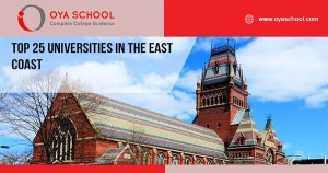 Top 25 Universities in the East Coast in USA