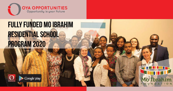 Fully Funded Mo Ibrahim Residential School Program 2020