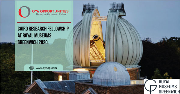 Caird Research Fellowship at Royal Museums Greenwich 2020