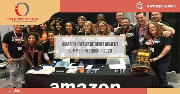 Amazon Software Development Summer Internship 2020