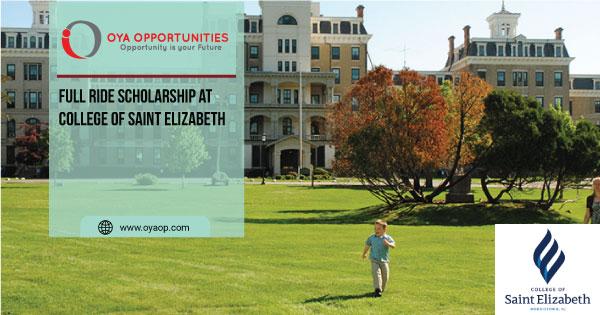 Full Ride Scholarship at College of Saint Elizabeth