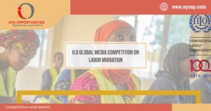 ILO Global Media Competition on Labor Migration