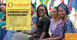 Entrepreneur Fellowship 2020 for African Women
