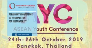 ASEAN Youth Conference 2019: Connection for Sustainability