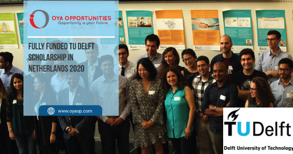 Fully Funded TU Delft Scholarship in Netherlands 2020