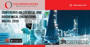827th Conference on Chemical and Biochemical Engineering, Macau