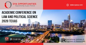 Academic Conference on Law 2020 Texas