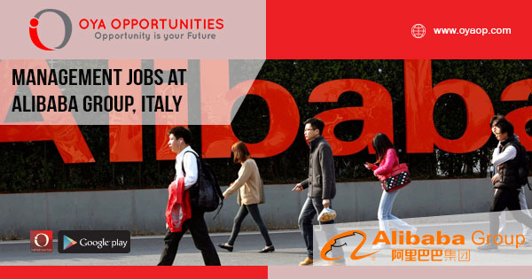 Management jobs at Alibaba Group, Italy