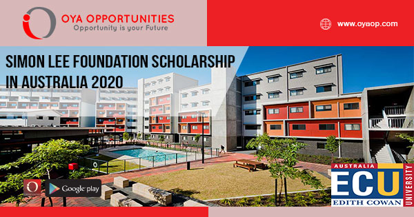 Funded Simon Lee Foundation Scholarship in Australia 2020