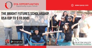 The Bright Futures Scholarship, USA (up to $10.000)