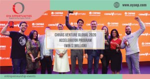 Chivas Venture Global 2020 Accelerator Program(Win $1Million)