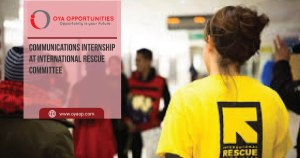 Communications Internship at International Rescue Committee