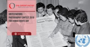 United Nations Photography Contest 2019 for Human Rights Day