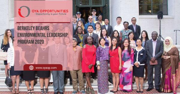 Berkeley Beahrs Environmental Leadership Program 2020