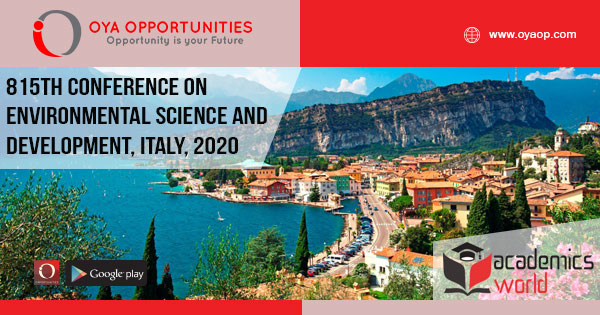 815th Conference on Environmental Science and Development