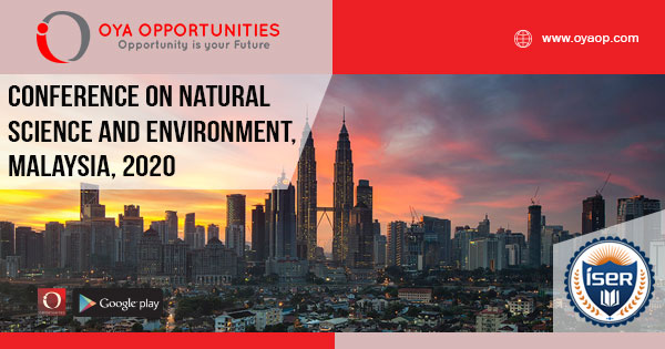 852nd Conference on Natural Science and Environment, Malaysia