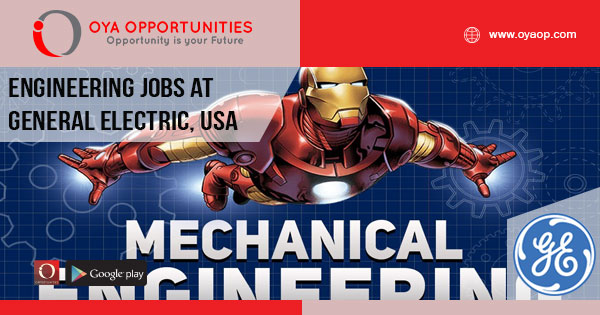 Engineering Jobs at General Electric, United States