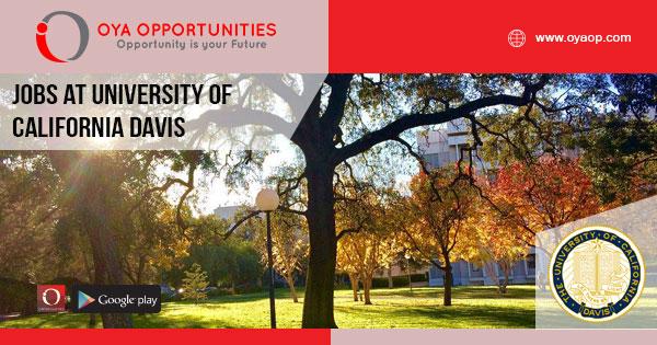 Jobs at University of California Davis