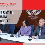 UN Jobs in Bahrain, Program Management Officer