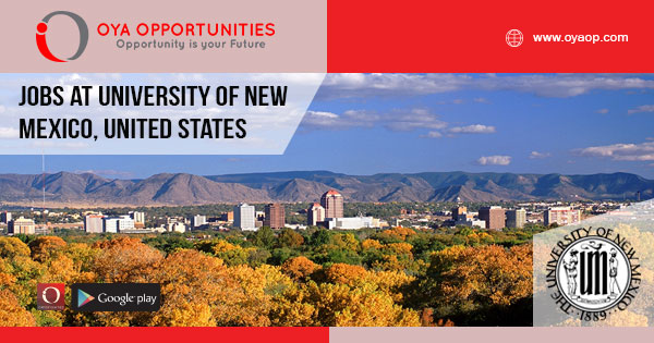 Jobs at University of New Mexico, United States