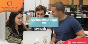 UX Research Intern at Facebook 2020