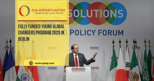 Fully Funded Young Global Changers Program 2020 in Berlin