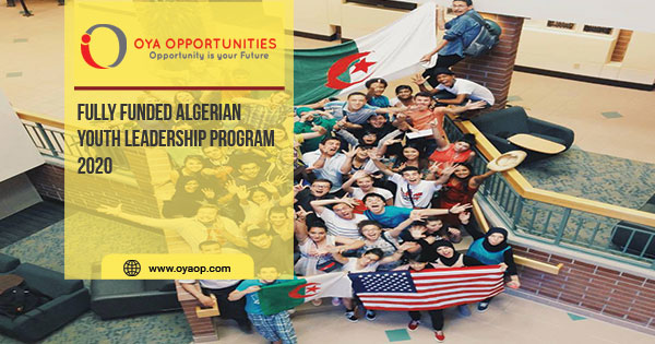 Fully Funded Algerian Youth Leadership Program 2020
