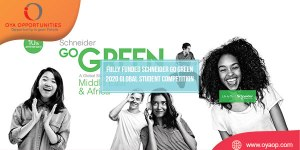 Fully Funded Schneider Go Green 2020 Global Student Competition