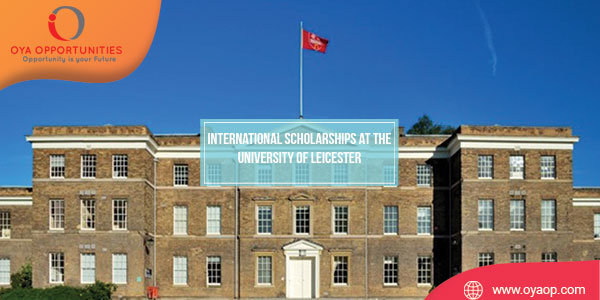 International Scholarships at the University of Leicester